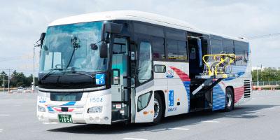 リフト付き高速バス